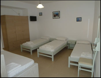 You see here a picture of one of our rooms